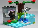 LEGO-41046-クマとマウンテンリバーを作った-完成品表示用1.jpg