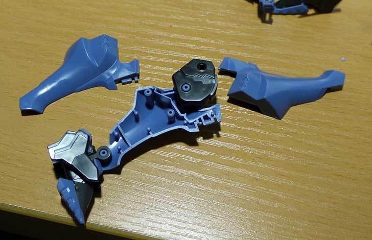 1-144-不知火・弐型-phase3-2号機-篁-唯依搭乗機の素組をした9.jpg