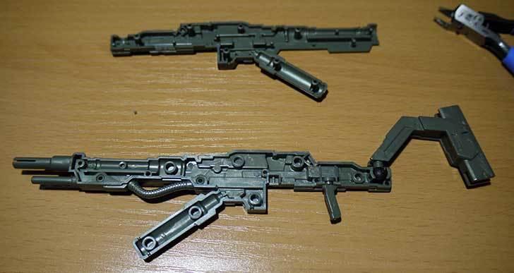 1-144-武御雷-Type-00R-斯衛軍第16大隊指揮官機の電磁投射砲を素組した4.jpg