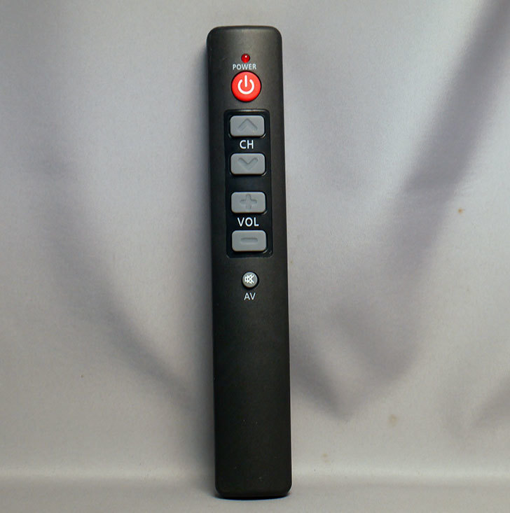 6つのキーシンプル-TVリモコンを買った1.jpg