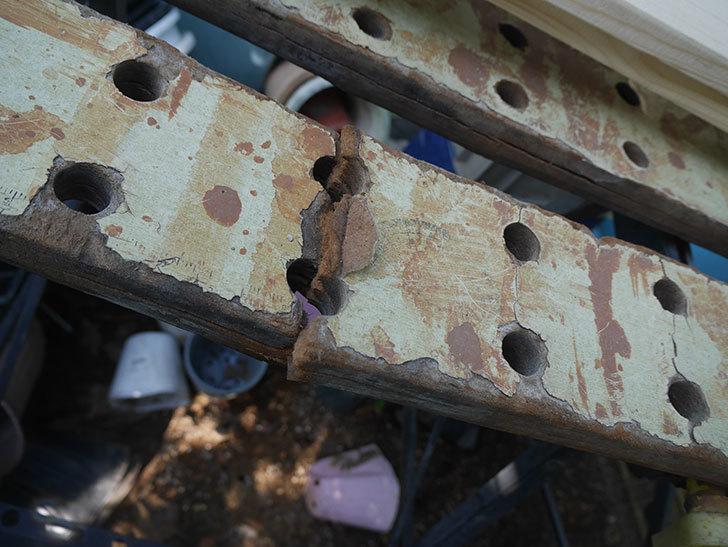 ACCS 軽量作業台 WB-007の天板を交換修理した-002.jpg