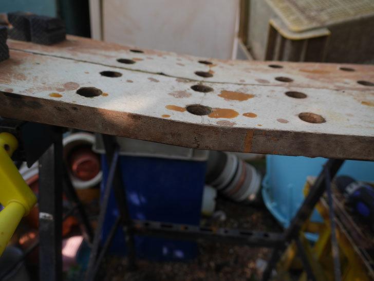 ACCS 軽量作業台 WB-007の天板を交換修理した-022.jpg