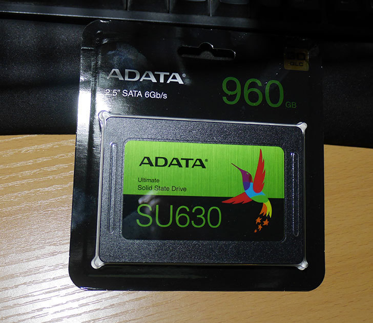 ADATA-Ultimate-SU630-ASU630SS-960GQ-X-NTT-X-Store限定モデルを買った1.jpg
