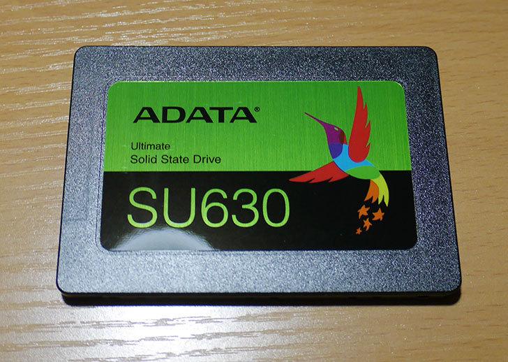 ADATA-Ultimate-SU630-ASU630SS-960GQ-X-NTT-X-Store限定モデルを買った3.jpg