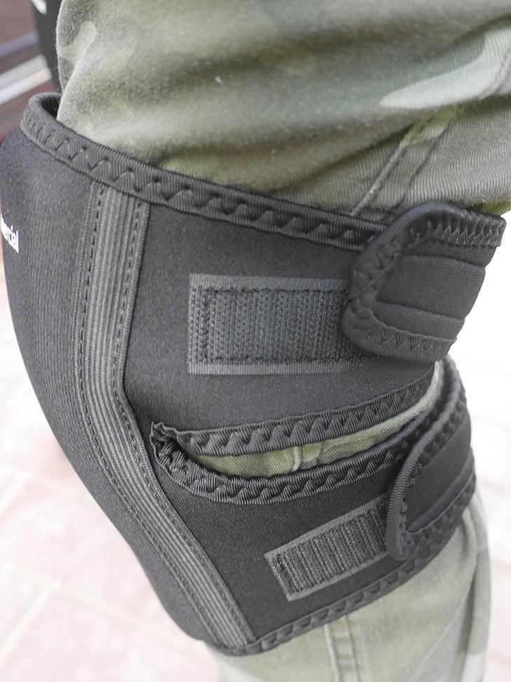 AmazonCommercial 膝あて オーバー アンダー ニーパッドを買った-006.jpg