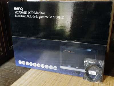 BENQ 27型 LCDワイドモニタ M2700HD.jpg