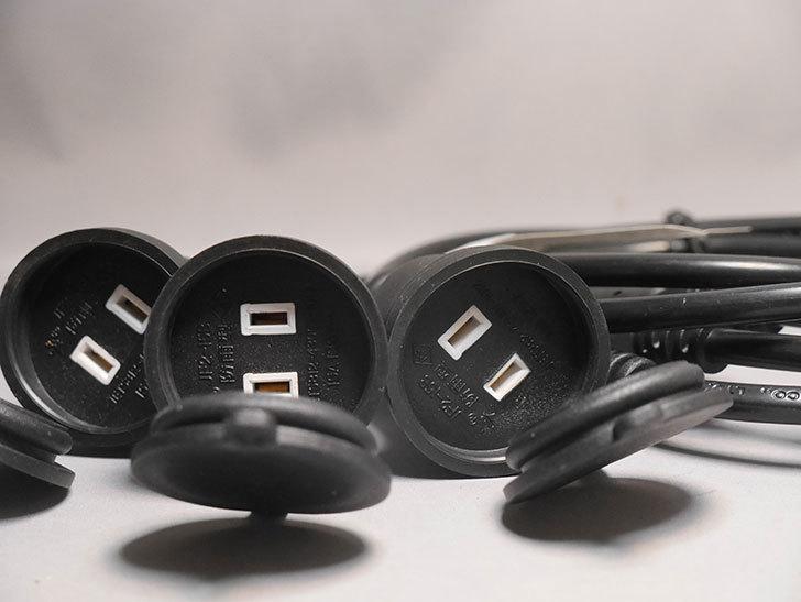 Bomcosy 延長コード 分配コード 3分岐 防雨型 15A 1.5M 電源コードを買った-003.jpg