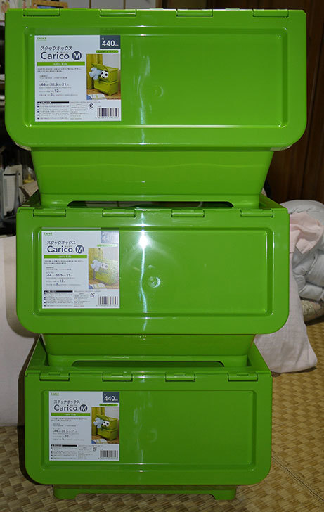 Carico-Mのグリーンをカインズで3個買って来た4.jpg