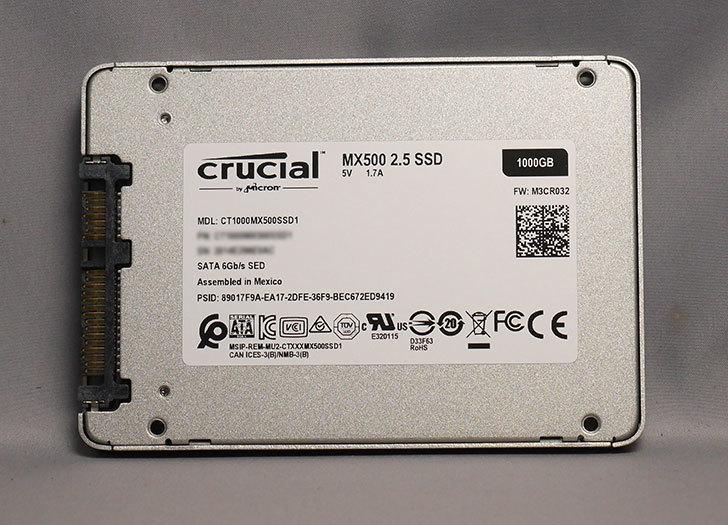 Crucial SSD 1000GB MX500 CT1000MX500SSD1_JPを買った004.jpg