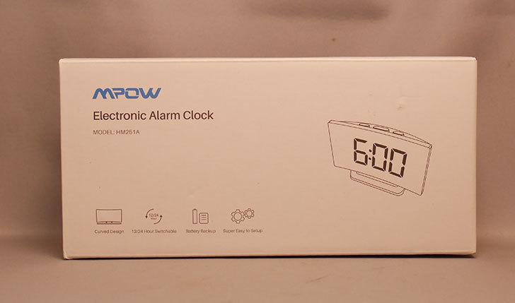 CyberMonday-セールで買ったMPOW-目覚まし時計-置き時計が届いた2.jpg