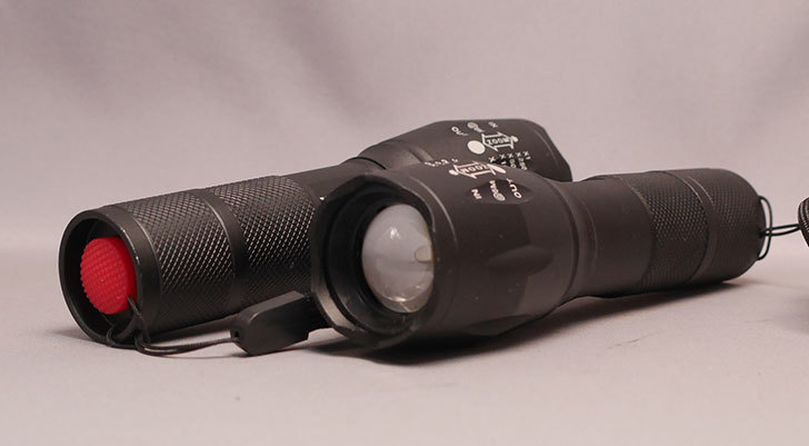 CyberMonday-セールでPUAIDA-LED懐中電灯-1200ルーメン-小型-2個セットを買った3.jpg
