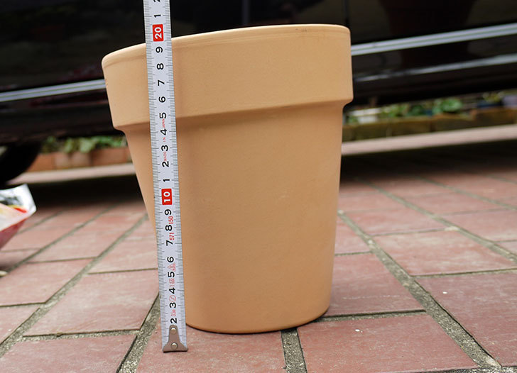DEROMA-トールポット(0D-18WSZ-vaso-alto)-18cm-(6号)をケイヨーデイツーで買って来た7.jpg