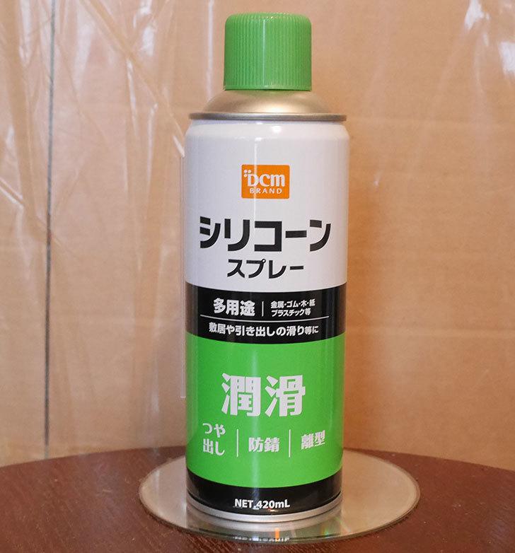 DMC-シリコンスプレーをケイヨーデイツーで買ってきた1.jpg