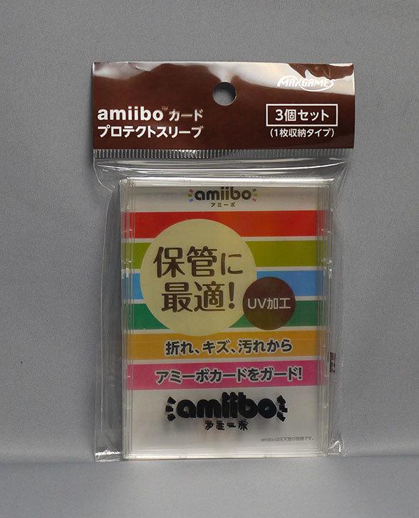 どうぶつの森amiiboカード-第1弾-(5パック+amiiboカード-プロテクトスリーブ3個セット)が届いた3.jpg