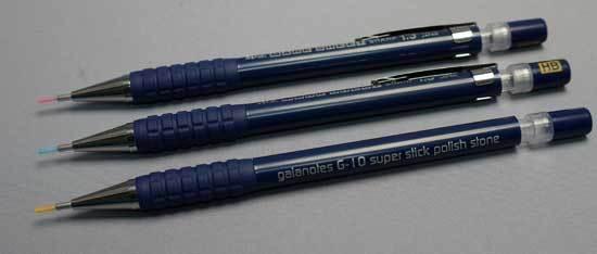 ぺんてる シャープペンシル 1.3mm マークシートシャープセット AM13STHB 2-3.jpg