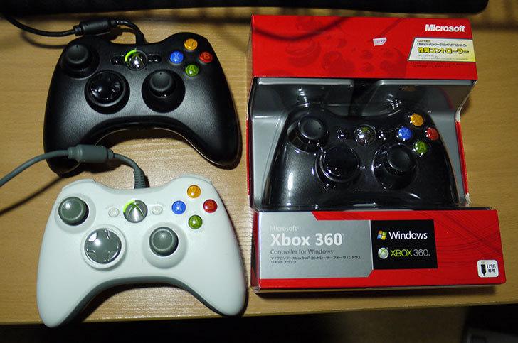また、Xbox-360-Controller-for-Windows-リキッド-ブラック-52A-00006を買った1.jpg