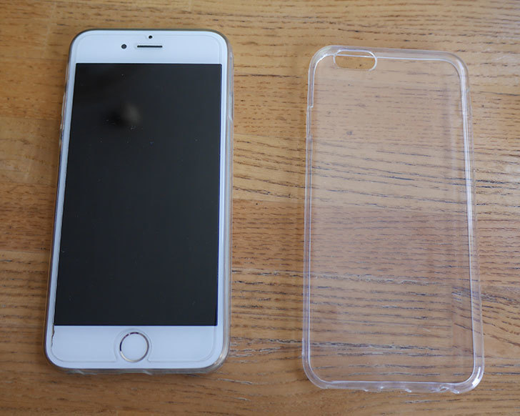 また、iPhone6用ソフトケース-TPU保護ケース・カバー-4.7インチ-クリアを買った1.jpg