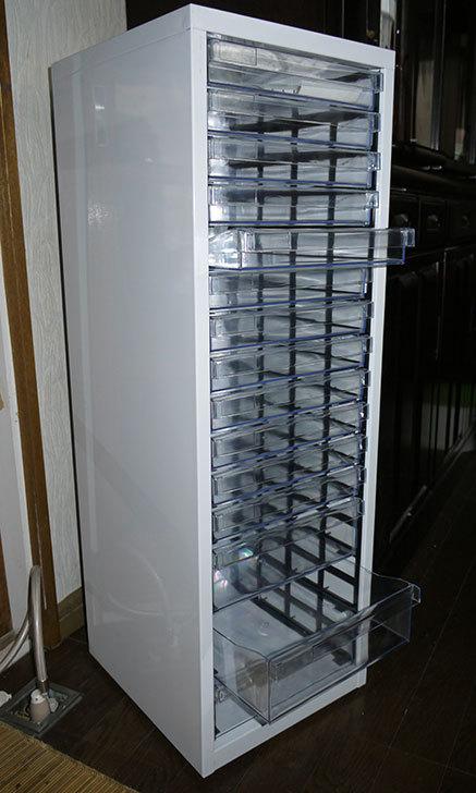 アイリスオーヤマ-スチールフロアケース-SFE-8123をホームズで買って来た4.jpg