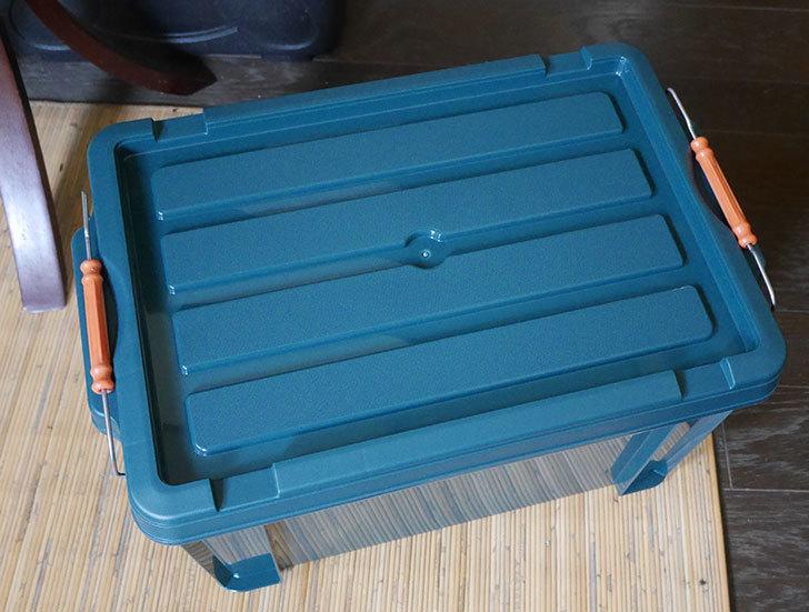 アイリスオーヤマ-バックルコンテナ-BL-21-ダークグリーンを買った3.jpg