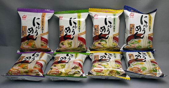 アマノフーズ-にゅうめん8食お試しセットを買ってみた1.jpg