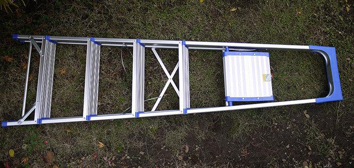 アルミス-アルミ幅広ステップ踏み台-トレー付5段-AKT-5F買って来た1.jpg