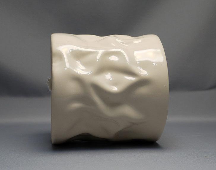 アート植木鉢-花盆-洋陶器植木鉢43(クリーム色)を2個買って来た5.jpg