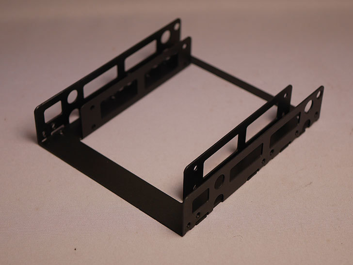 オウルテック-2.5インチ→3.5インチサイズ変換ブラケット-ブラック-OWL-BRKT06(B)を買った6.jpg