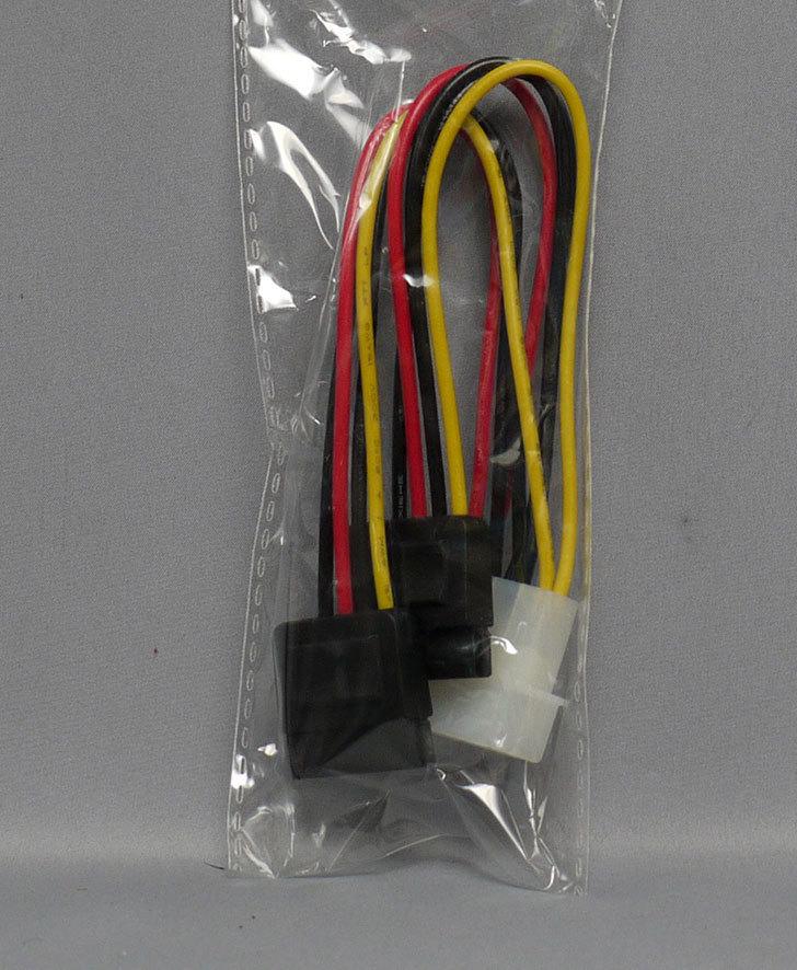 オウルテック-電源変換分岐ケーブル15cm-OWL-CBPU011を買った2.jpg