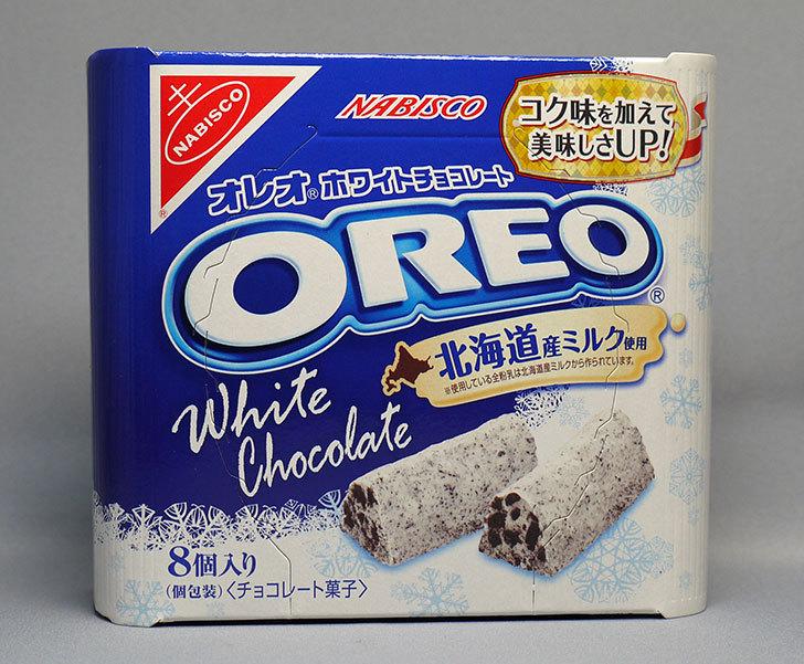 オレオ ホワイトチョコレート-8個入りを買ってきた1.jpg