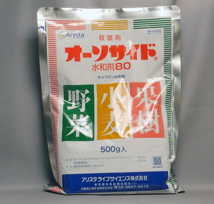 オーソサイド水和剤80-500gを買った。2019年-1.jpg