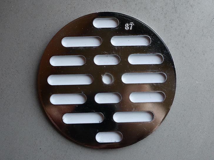 カクダイ 0400 丸目皿アミ 直径87mmをケイヨーデイツーで買ってきた。2021年-002.jpg
