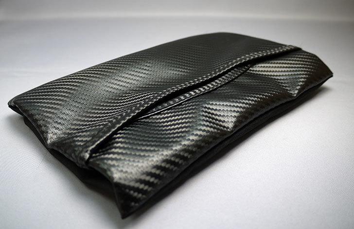 カーメイト(CARMATE)-ティッシュケース-スリム-カーボン調-DZ216を買った4.jpg