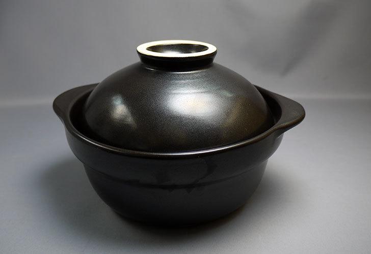 ガス火用-土鍋-黒-5号-15AWがカインズで238円だったので買ってきた1.jpg