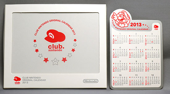 クラブニンテンドーカレンダー2013が届いた1.jpg