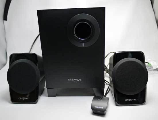 クリエイティブ 2.1チャンネル ステレオ アクティブ PCスピーカー SP-SBS-A120 1.jpg