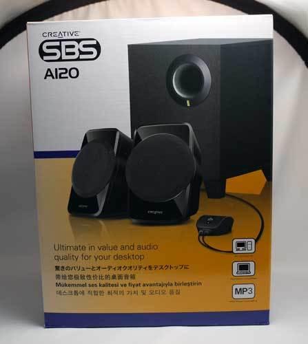 クリエイティブ 2.1チャンネル ステレオ アクティブ PCスピーカー SP-SBS-A120 2.jpg