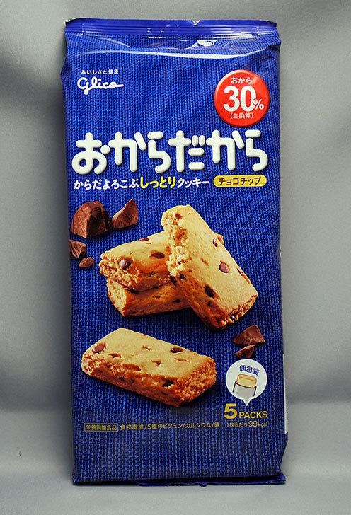 グリコ-おからだから-チョコチップを買って来た1.jpg