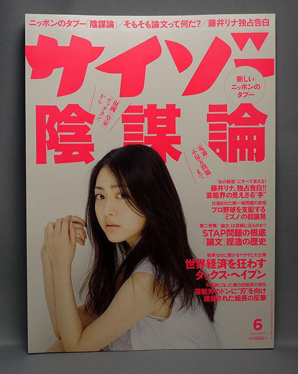 サイゾー-2014年-06月号を買った.jpg