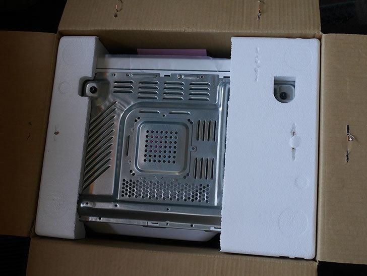 シャープ 単機能 電子レンジ 東日本 50Hz専用 20L RE-T2-W5 ホワイトを買った-003.jpg