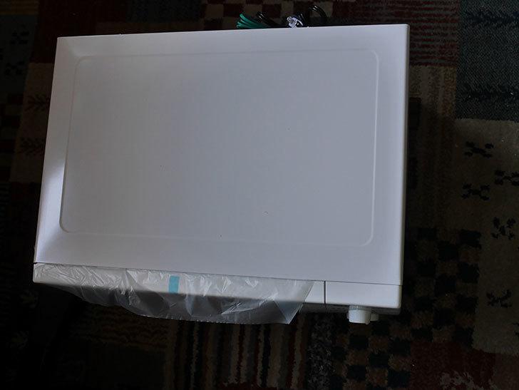 シャープ 単機能 電子レンジ 東日本 50Hz専用 20L RE-T2-W5 ホワイトを買った-004.jpg