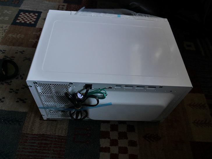 シャープ 単機能 電子レンジ 東日本 50Hz専用 20L RE-T2-W5 ホワイトを買った-005.jpg