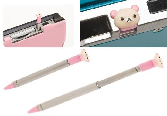 スリムタッチペン for ニンテンドー3DS コリラックマ 2.jpg