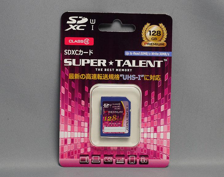 スーパータレント-UHS-I-SDXCメモリーカード-128GB-Class10-ST28SU1Pを買った1.jpg