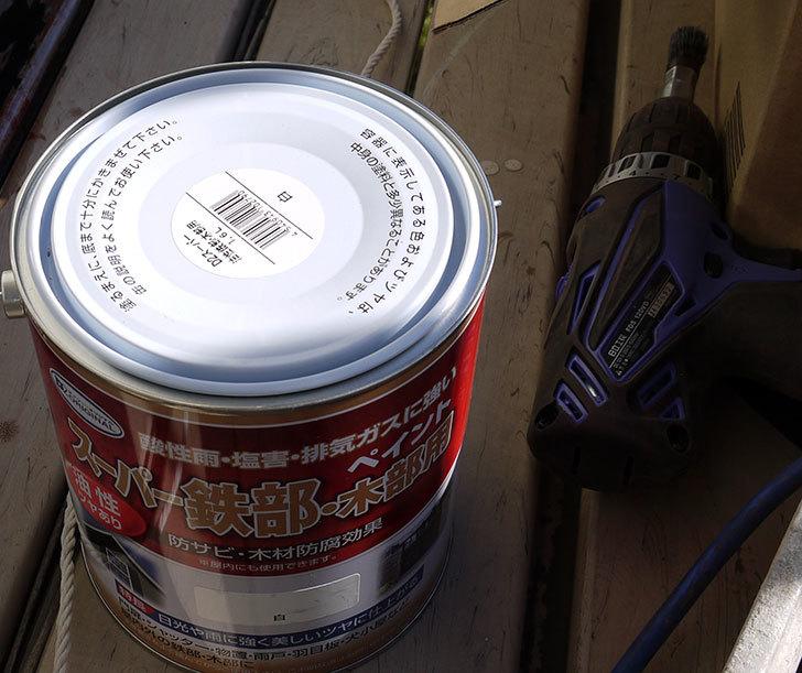 スーパー鉄部・木部用ペイント-1.6L-白をケイヨーデイツーで買って来た2.jpg