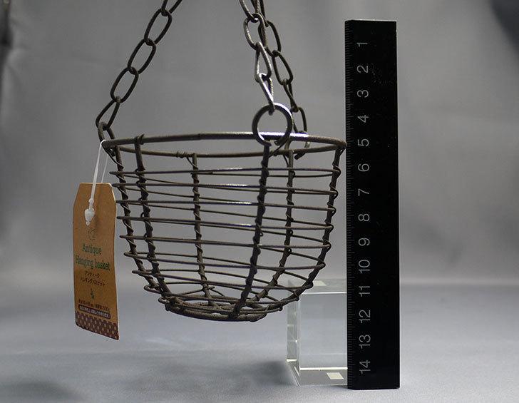 セリアでAntiqui-Hanging-basket-アンティークハンギングバスケットを買ってきた4.jpg