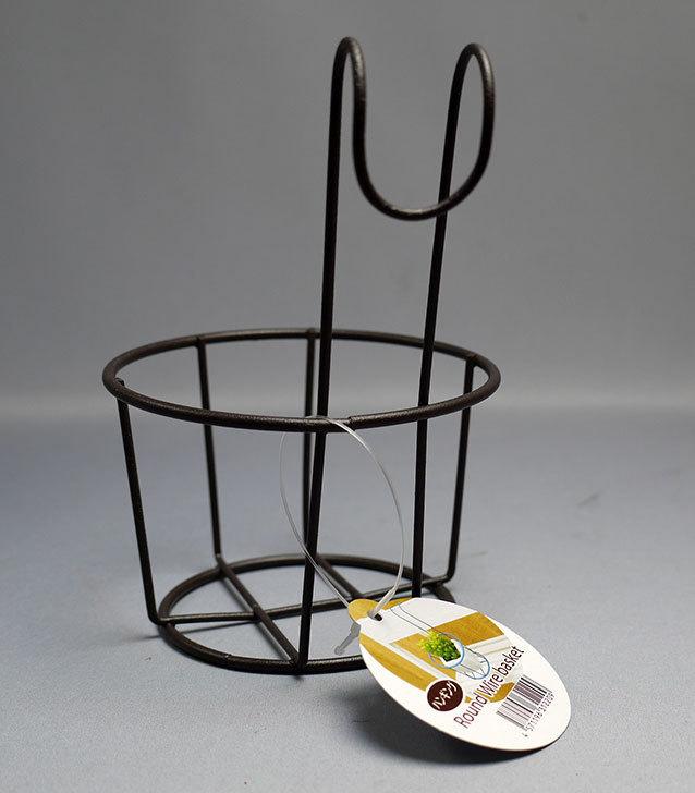 セリアでハンギング-Round-Wire-basketを買って来た3.jpg