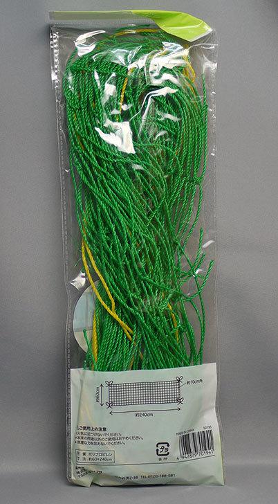 セリアで園芸ネット-ロングタイプ-約60×240cmを買って来た2.jpg