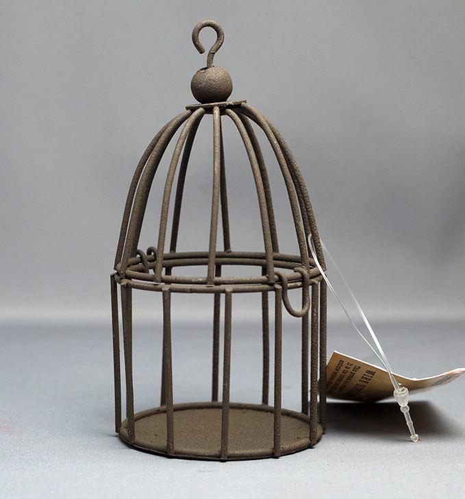 セリアでWIRE-BIRDCAGE-ワイヤーバードケージを買ってきた1.jpg
