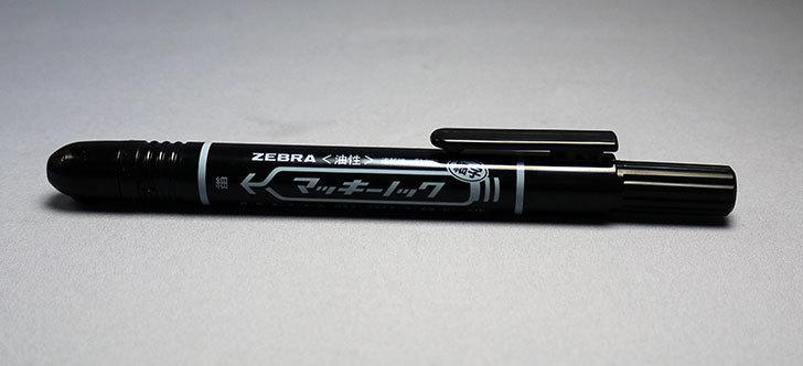 ゼブラ-油性ペン-マッキーノック-細字-P-YYSS6-BK5-黒-5本を買った4.jpg