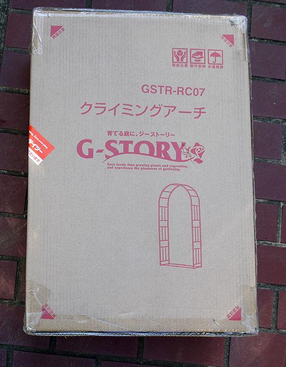 タカショー-G-story-クライミングアーチをケイヨーデイツーで買って来た1.jpg